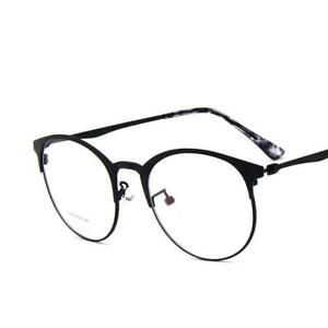 d9e22d819ed Thin Rim Round Metal Vintage Men Women Optical EYEGLASSES FRAMES ...
