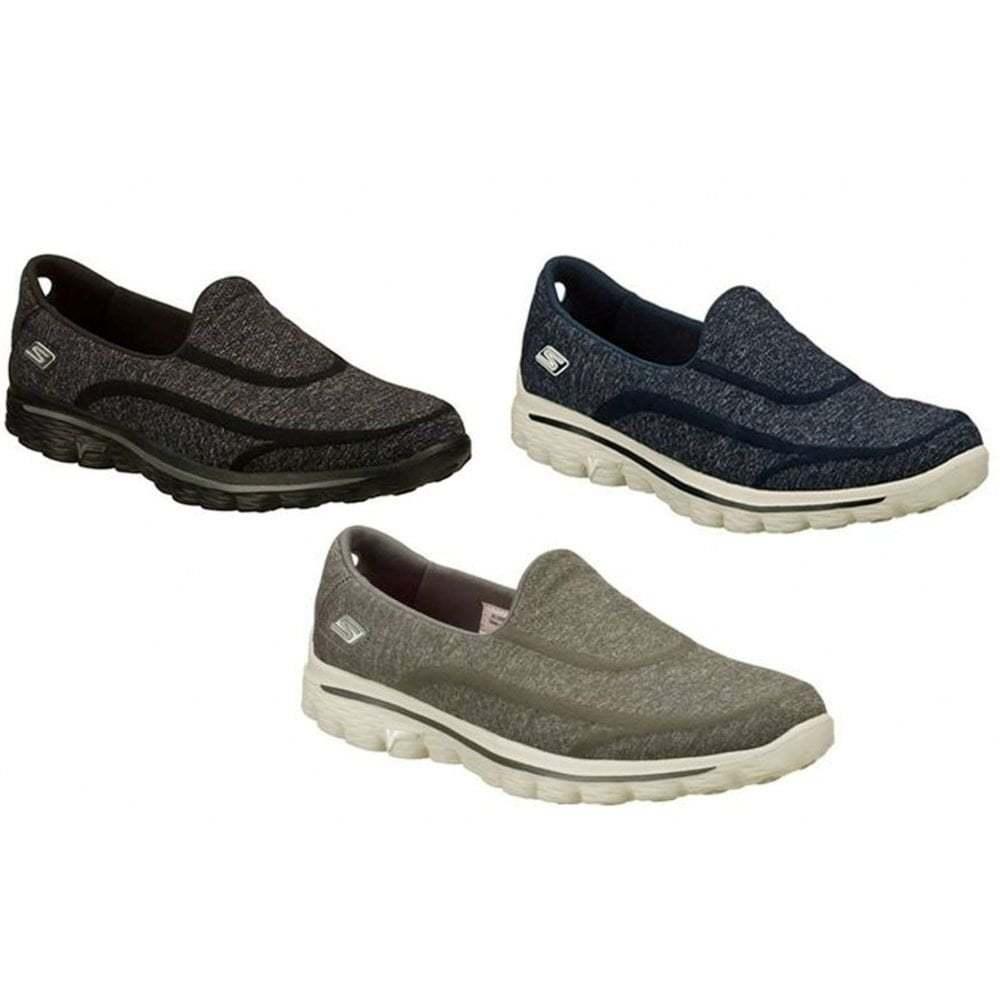 Skechers Go Walk 2 Super Sock femmes Slip On All Tailles in Various Colours
