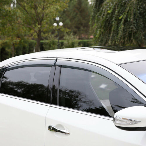 Window Visor Vent Shades Sun Rain Guard 4pcs For Nissan Teana Altima 2013-2018