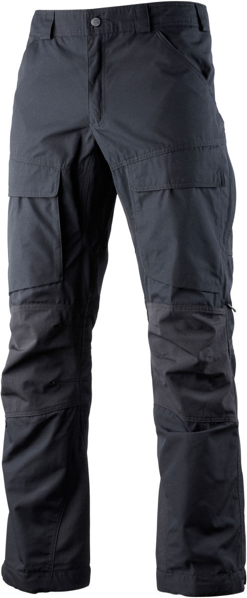 Lundhags Authentic Herren-Outdoorhose lang (schwarz) Gr.150 (deutsch Gr.102)