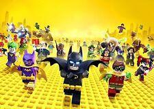 Lego Batman Poster The Lego Batman NEW 2017 Movie A4 260GSM