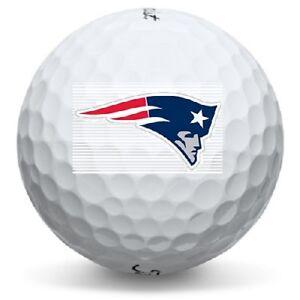 1 Dozen (New England Patriots Logo) Titleist Pro V1 Perfect Conditon ... 31cc47319