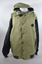 2016 NWOT MENS GRENADE COURAGE JACKET $200 L grass green black insulated gloves
