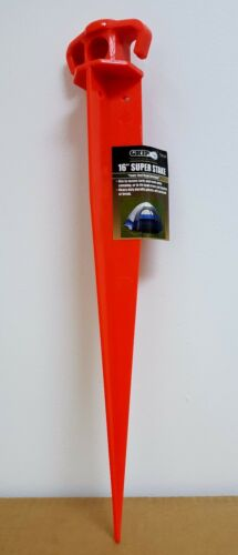 """GRIP Tools 16/"""" Super Stake Camping Tents Canopies Multipurpose Durable Stake"""