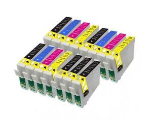 SET-15-tinta-GEN-COMPATIBLES-NON-OEM-IMP-Epson-DX6000-DX-6000-T0711-T0891-HQLTY