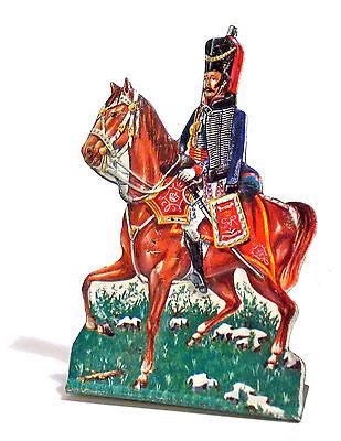 Soldatino Di Latta - Waterloo Uff. Dragoni Leggeri R.gto Ussari Del Re - 1972 Possedere Sapori Cinesi