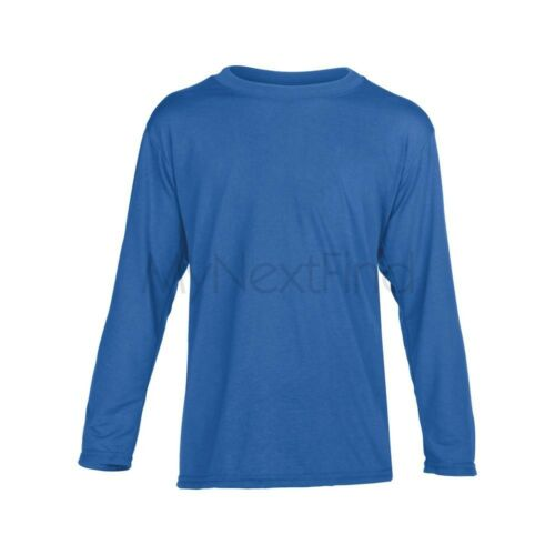 Gildan Performance Boys Girls Long Sleeve T-Shirt