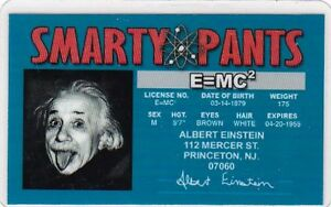 Smarty-Pants-Albert-Einstein-Scientist-Princeton-University-e-mc-Drivers-License