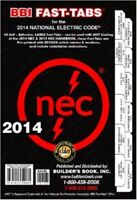 2014 National Electrical Code Nec Fast-tabs By Builder's Book on Sale