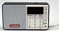 Tecsun Q3 High Sound Quality Fm Radio With Mp3 Player And Recorder - Black