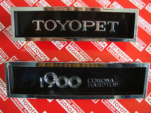 Toyota-Corona-Mark-II-Hardtop-Coupe-1979-1971-1972-1973-RT70-RT71-Grill-Emblems