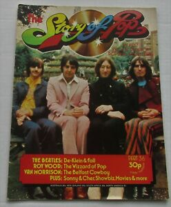 STORY-OF-POP-36-THE-BEATLES-ROY-WOOD-VAN-MORRISON-1970-039-s-MAGAZINE