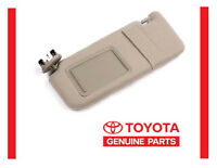 2007 2008 2009 2010 2011 Toyota Camry Beige Sun Visor Left Driver With Sunroof