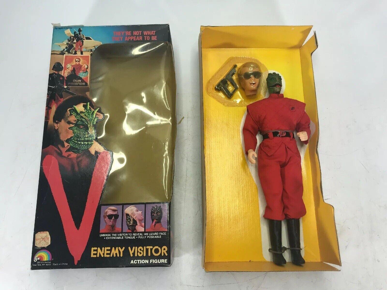 Rara Vintage 1980s Ljn enemigo visitante Coleccionable Figura De Acción Juguete Nuevo  LEER
