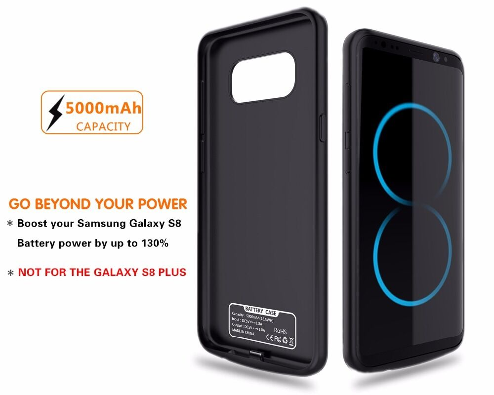 5500mAh External Power Bank Battery Pack Charger Case For ...