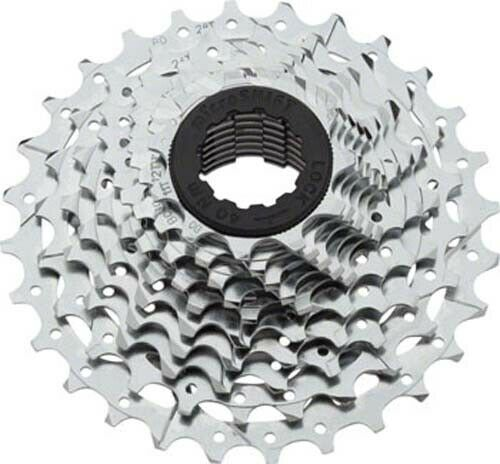 10 Speed 11-28t Silver Chrome Plated microSHIFT H10 Cassette