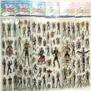 3D Action Figures Children Stereoscopic Stickers-lot of 6 kids gift Hot!