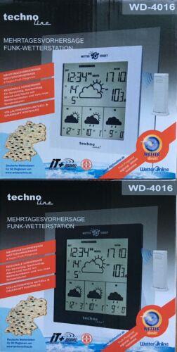 Technoline WD 4016 Radio Station Météo mehrtages prévision Extérieur Capteur Thermomete