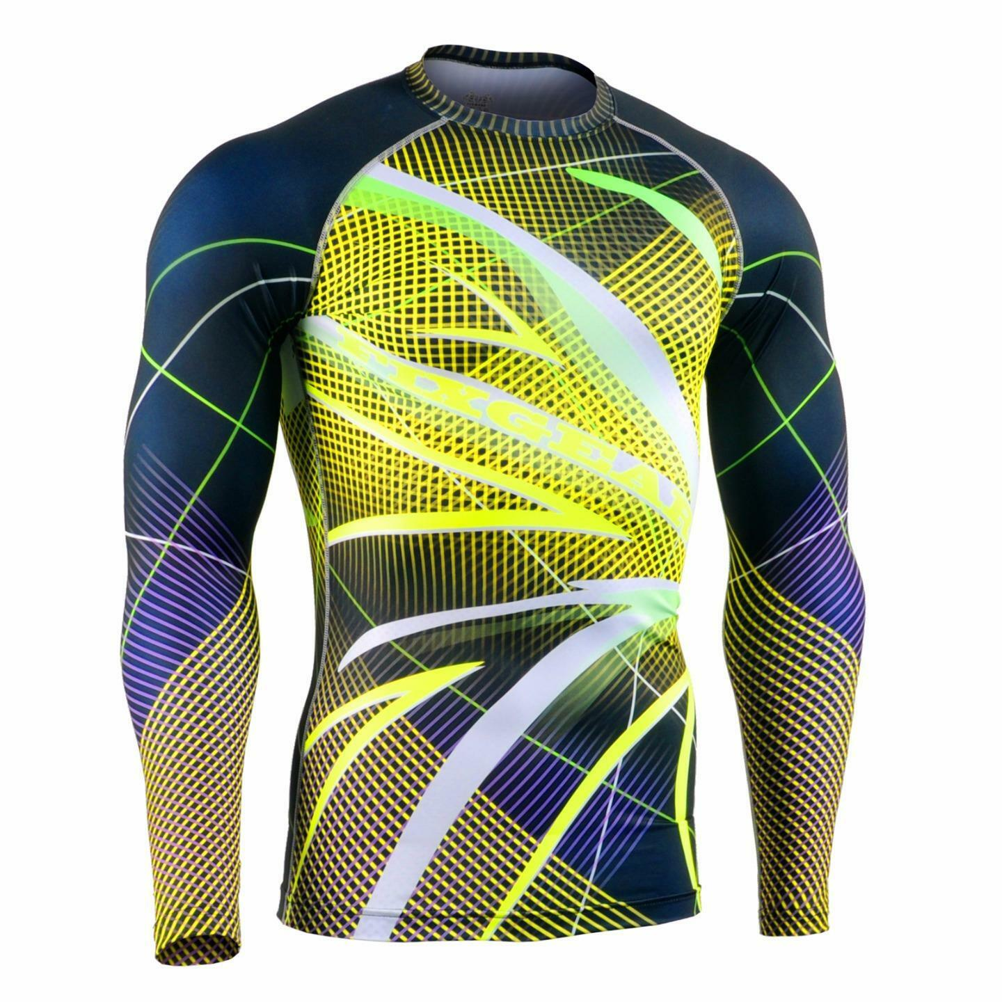 FIXGEAR CFL-F71 Compression Base Layer Shirt Sportswear Bodybuilding Workout GYM