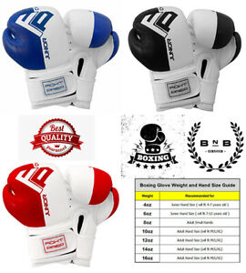 FP Kids Boxing Gloves Junior Punching Bag Mitts Muay thai Training Sparring
