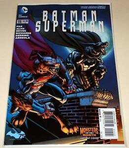 BATMAN / SUPERMAN # 15   DC Comic  Dec 2014   NM  MONSTERS OF THE MONTH VARIANT