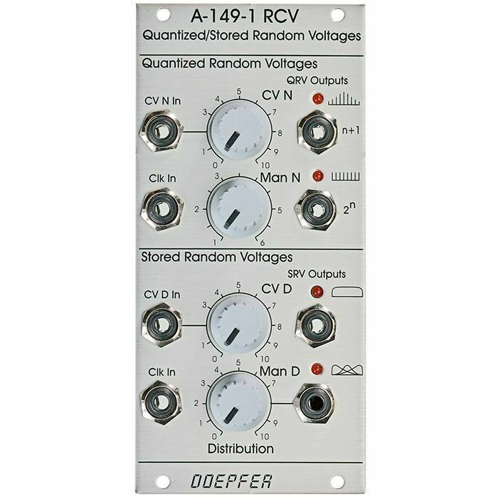 Doepfer A-149-1 Quantized StGoldt Random Voltages Module