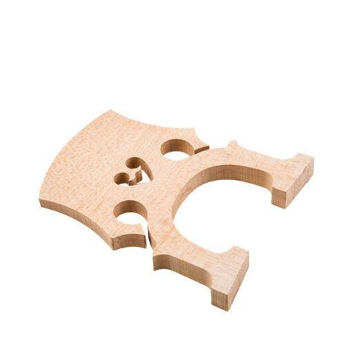 New High Quality Intermediate Cello Bridge 1//4 Size Cello Bridges Cello Parts