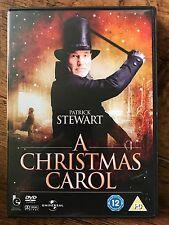 Patrick Stewart Richard E Grant A CHRISTMAS CAROL ~ 1999 Scrooge Classic UK DVD