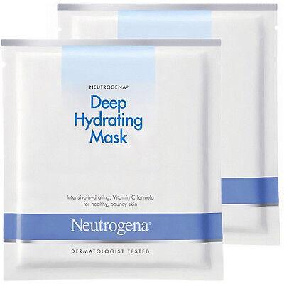 Neutrogena Deep Intensive Hydrating Facial Mask (2 sheets) Vitamin C formula