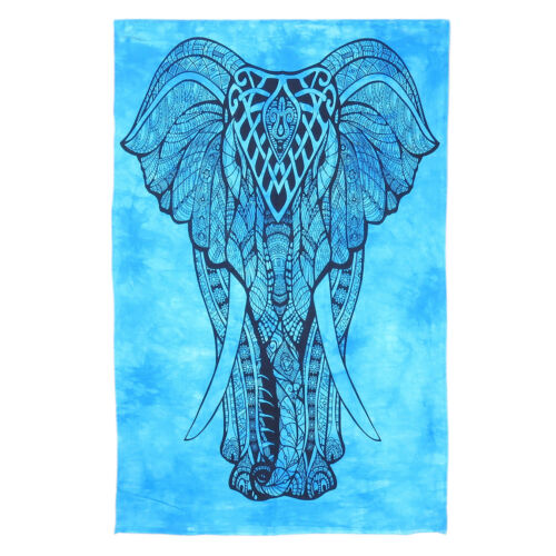 Ghhpws Mens Mandala Elephant Underwear Cotton Boxer Briefs Stretch Low Rise Trunks Black