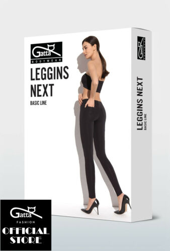 Gatta Leggings Next modisch elegant hochwertig mit modischen Gesäßtaschen Po