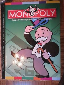 Image Is Loading Monopoly Bookshelf Game Fold Up Board