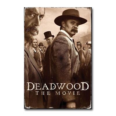 Deadwood The Movie Daniel Minahan Film Art Silk Canvas Poster Print 24x36 inch