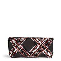 Vera Bradley Factory Exclusive Eyeglass Case In Minsk Plaid on sale