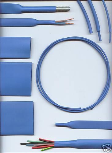 3.2 Mm Azul heatshrink tubería del encogimiento del calor Por Metro