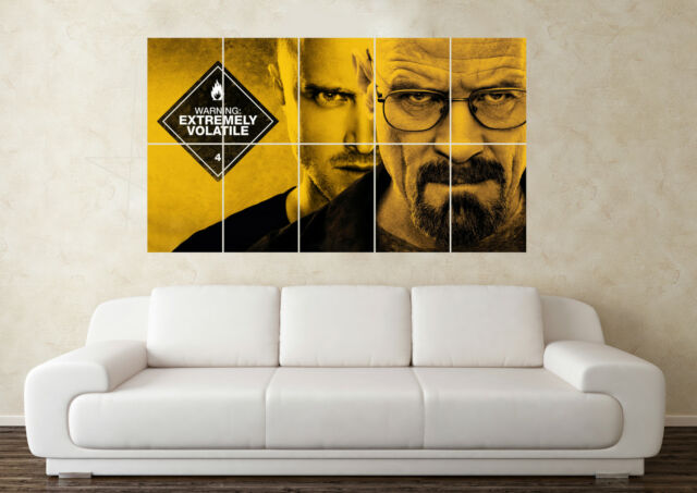 Large Breaking Bad Wall Poster Art Picture Print