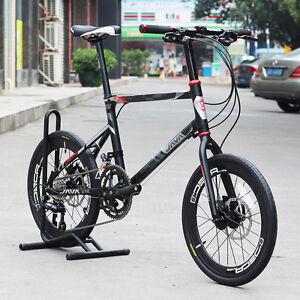 java alloy mini velo bike 20 minivelo urban commuter 18s hydraulic disc brake 713262015582 ebay. Black Bedroom Furniture Sets. Home Design Ideas