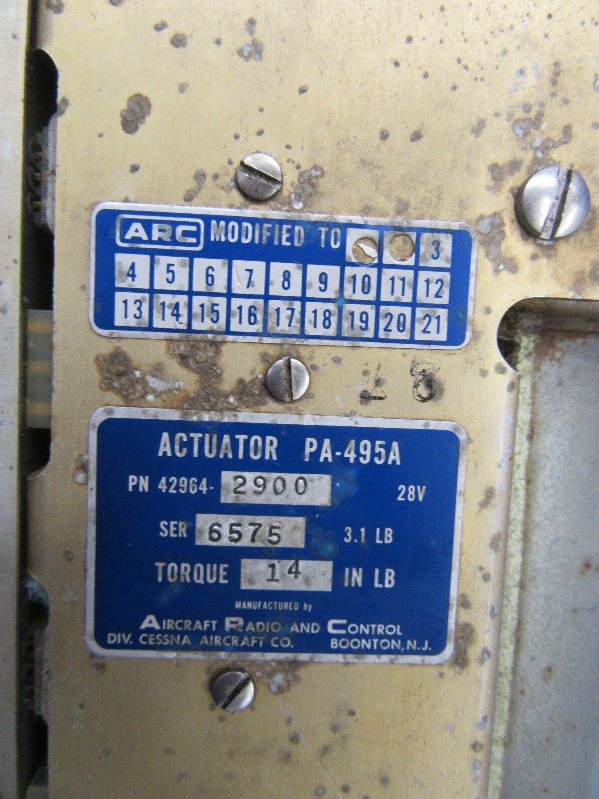 Cessna 177RG Arc Déclencheur Déclencheur Arc PA-495A P/N 42964-2900 (0818-184) 8a5a7c