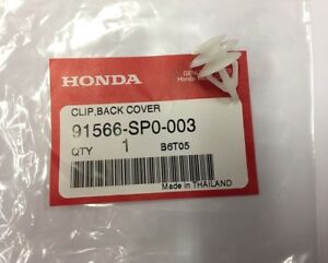 Honda Genuine 81122-SX0-003 Seat Back Pad and Frame