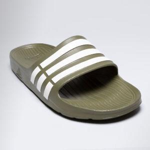 new arrival d70f1 bf6e4 Image is loading Adidas-Men-039-s-Duramo-Slide-Sandals-Beach-