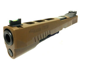 Details about Sig P320 X5 Slide Bull barrel 9mm X-Five OEM New X5 Coyote  Tan Brown FDE