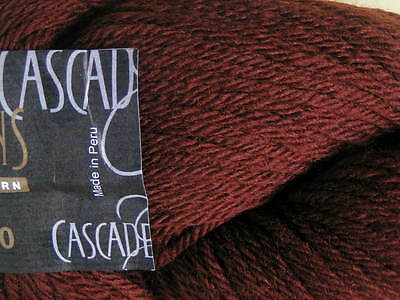 CASCADE 220 Knitting /& Felting Yarn #2411 Cafe