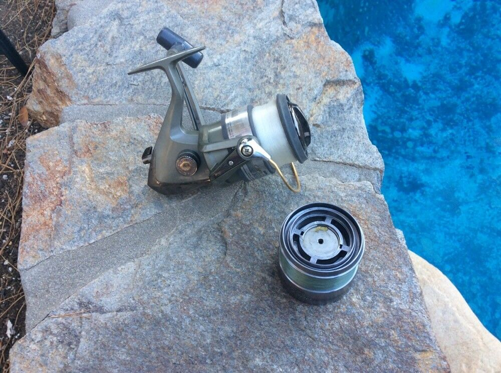 Daiwa OPUS PLUS 4500 Spinning  Reel With EXTRA Spool-VERY GOOD CONDITION  lowest whole network