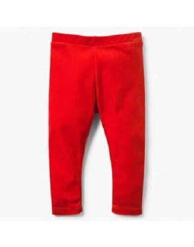 Pants 155 Gymboree Baby// Toddler Girl/'s Orange Velour Leggings NWT