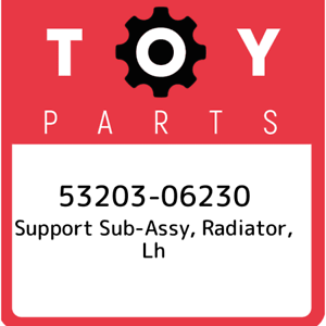53203-06230-Toyota-Support-sub-assy-radiator-lh-5320306230-New-Genuine-OEM-Pa