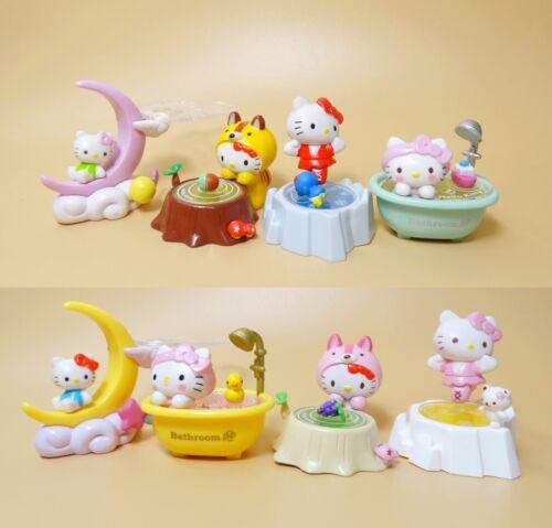 """LOT OF 8  Hello Kitty  figure SET 2/""""-3/"""""""