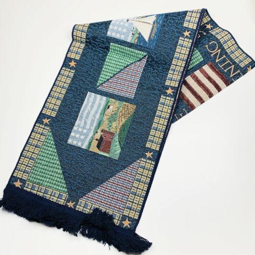 America The Beautiful Sea To Shining Sea Tapestry Table Runner ~ Warren Kimble
