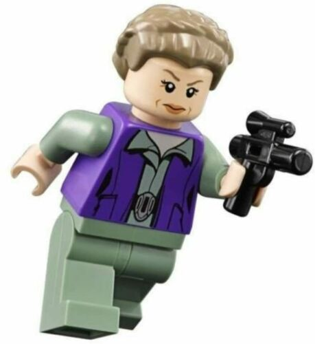 LEGO Star Wars Minifigure General Princess Leia with Blaster From Set 75140