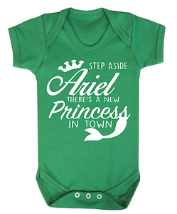 Step Aside Elsa Disney Inspired Baby Babygrow Bodysuit Princess Frozen