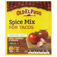 Old El Paso Reduced Salt Spice Mix Taco Mild 30g